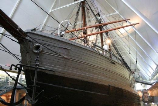 The Polar Exploring Ship