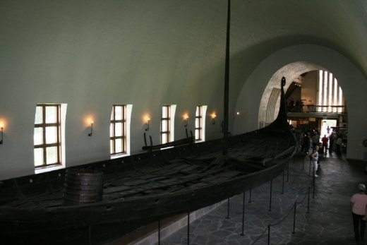 Does not look like a comfortable ride across the sea - no wonder the Vikings were so tough!