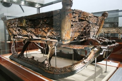 An old sled from the viking ships