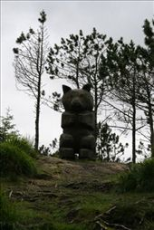 Creepy statue along the trail: by drmitch, Views[168]