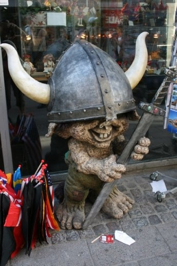 Trolls are big in Denmark...well maybe not so big
