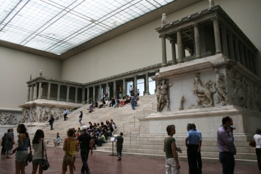 The altar in the Pergamon Museum