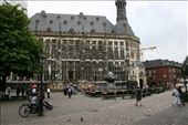 Aachen Town Hall - an impressive Gothic building, located in the heart of the historic centre and built in the 14th Century on the site of Charlemagne's palace,: by drmitch, Views[161]