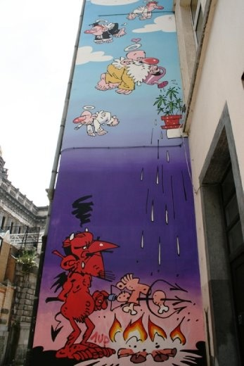 Some great artwork around the city