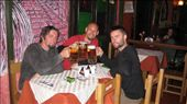 Celebrations!  Well, not really, just another meal out in Mirra Flores, Lima.  But the liter steins were cool, so we got someone to take the shot.  Shame South American beer isn't much in comparison to any decent European beer, or an Aussy microbrewery.: by dysfunctional, Views[310]