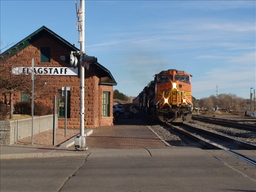 Flagstaff station, New Mexico