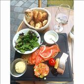 A happy ending, featuring salmon and green apple tartare.: by edible_stories, Views[102]