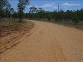 This was the main road at Coan Creek - it got a bit sl;ippy during the rains !: by edinoz, Views[384]