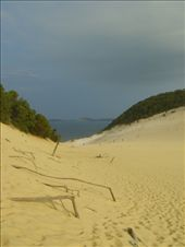 At Last - A picture of the Sandblow at Rainbow Beach.  What a great place: by edinoz, Views[382]
