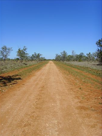 A station road at Gleeson.