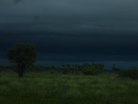 One of the darkest storm clouds I have ever seen