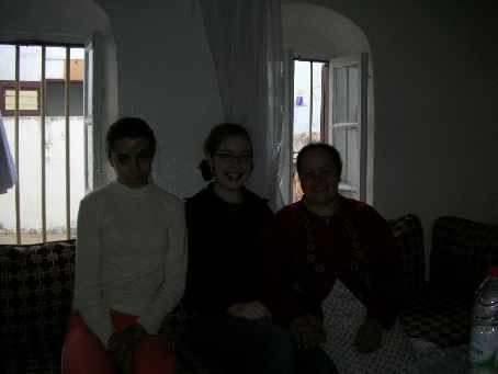 This is when I realized my exposure time was set low. Sad day that it took me so long to notice! Last day at the homestay with Sabah (my sister) and my homestay mom.