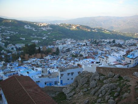 The Chaouen from above.