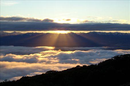 sunrise on the kepler