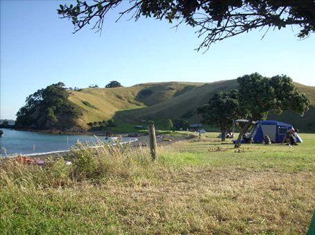 home bay campsite