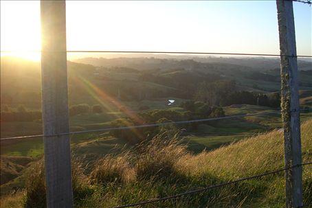 wellsford at sunset
