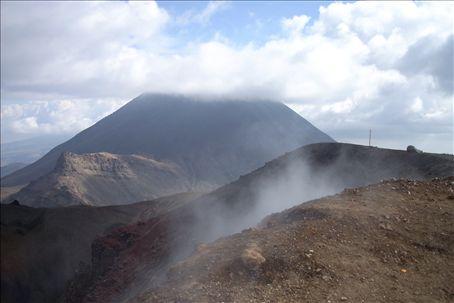 cloud-covered Mt. Doom!