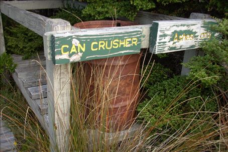 they have can crushers in the backcountry!