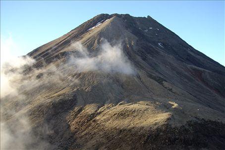 Mt Taranaki from Fanthom's Peak