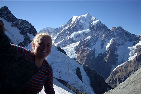 me and mount cook!