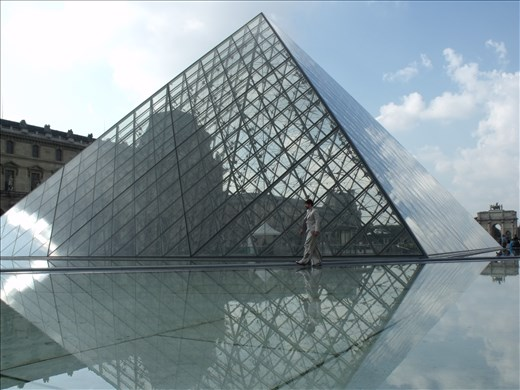 This water infront of the Pyramid lures amazement to those who know how to look
