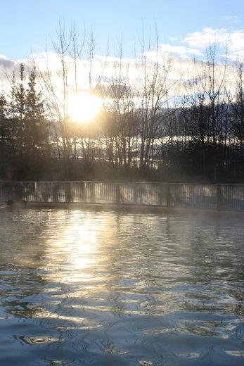 Hot springs! Mmm.