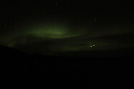 Northern lights! Hells yeah.