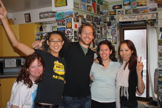 Nancy, Alan, Me, Bron and Ange.