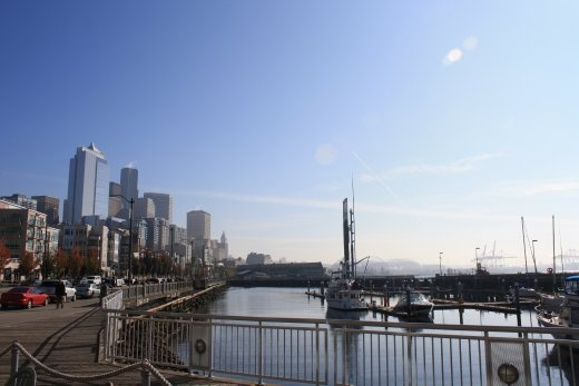 Seattle's nicely understated waterfront