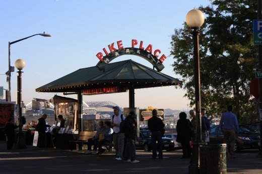 Pike Place Markets - these are incredible, so many great shops. Including one with chocolate pasta, and another that throws fish, before filleting them!