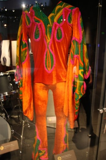 Jimmy Hendrix's butterfly costume.