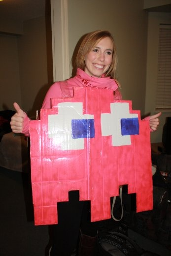 Brooke, a Canadian. Such an awesome costume.