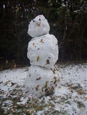 A super dooper snow man I helped make.: by elis82, Views[206]