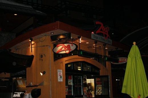 Zogs - the source of cheap and tasty late night poutine. Zogs, we love you