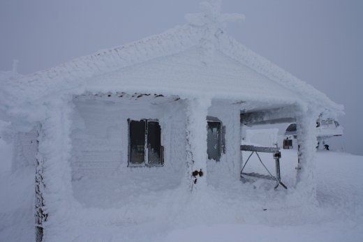 Harmony Hut; where Elis works - up in the alpine with no running water. Good fun
