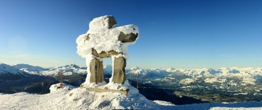 Views from the Whistler Peak