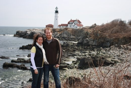 One of Maine's famous lighthouses