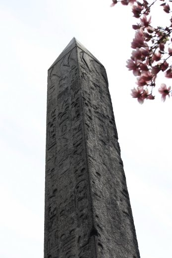 An obelisk stolen from Egypt back in the day