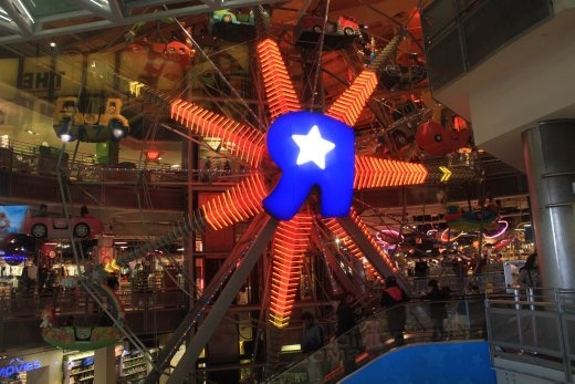 Ferris Wheel in a toy store. So cool
