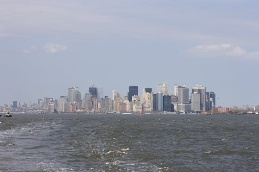 Manhatten from the Statten Island Ferry