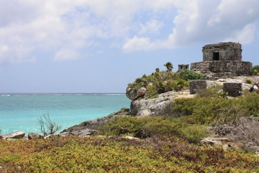 Tulum would have been popular with the Mayans transferred there