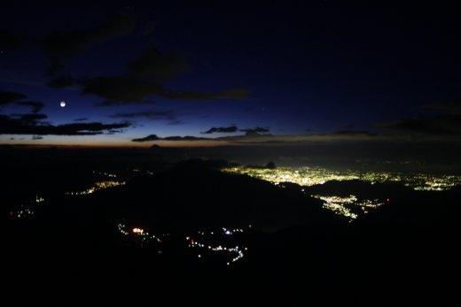 The lights of Xela