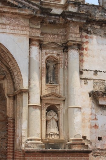 Antigua has quiet a few old churches, but earthquakes and over 30 years of civil war haven't been kind to them