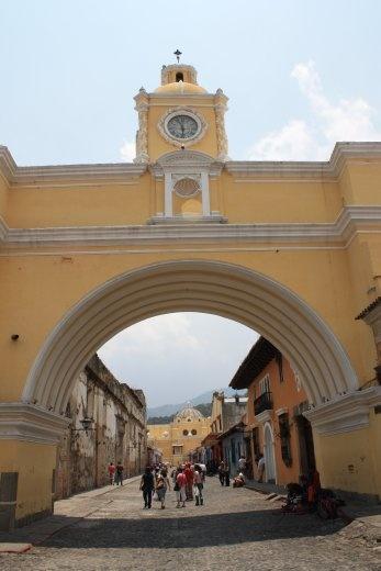 Antigua street-scape
