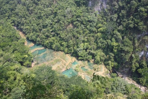 Semuc Champey - probably the most beautiful thing we've seen in Guatemala