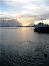 Sunset on Utila, in the Bay Islands: by elis82, Views[156]