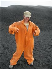 Bron, kitted up for volcano boarding: by elis82, Views[211]