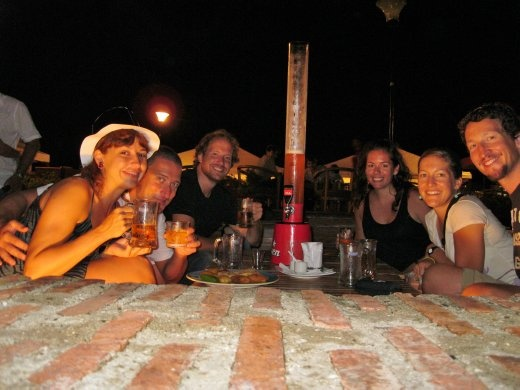 The whole crew from the sailing trip through the San Blas Islands