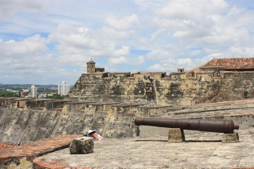 Castillo - the fort protecting Cartagena from pirates back in the day