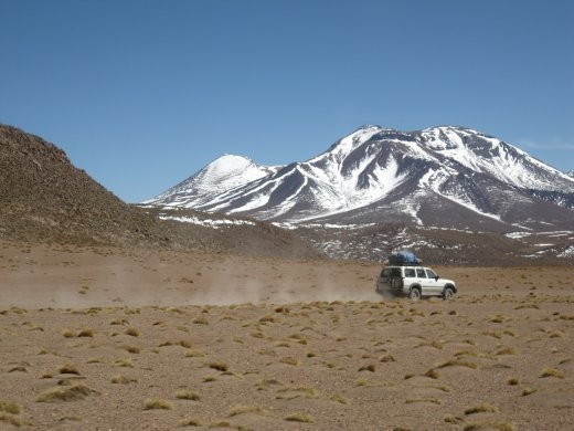 The Altiplano (high plains) - incredible scenery.